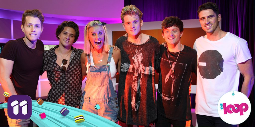 "9am today on @loopeleven, @TheVampsband stop by to perform their new single ""Rest Your Love""! #VampsDownUnder"