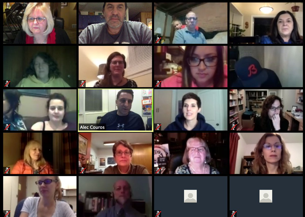 Here's the story, of a lovely open course... We're the #ETMOOC Bunch https://t.co/4jF8m7EhCU