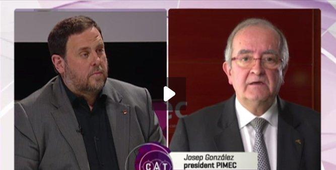 Bon dia! a @PuntCatTV3 @junqueras va respondre les preguntes de Josep González. Mira-ho a: https://t.co/HnJ9GFjpoU https://t.co/2BfC5Ocb8L