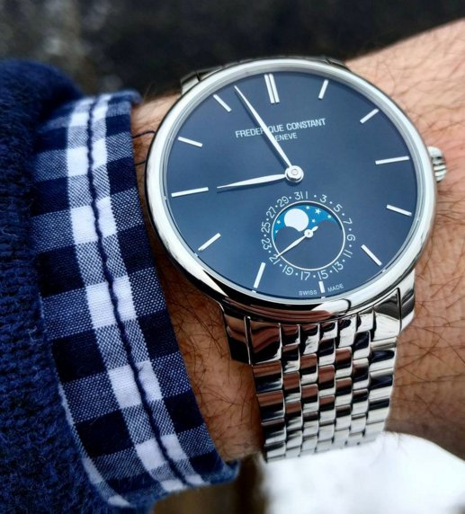 The Frederique Constant Slimline Moonphase Manufacture is powered by the FC-705 our in-house movement, which has a … https://t.co/l71FuqiENQ