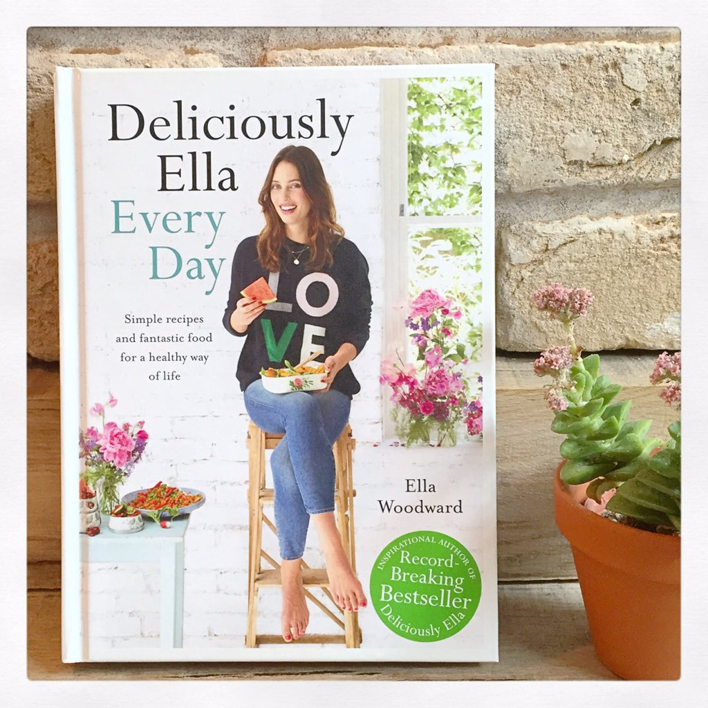 I'm giving away two signed copies of my new book! To win just retweet with #EllaEveryDay - open until Sunday!