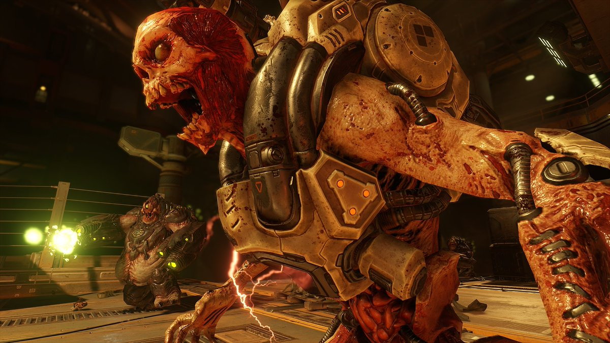 Doom is the most cerebral slaughterhouse you've ever seen https://t.co/U7zBolkReG https://t.co/qgnFFzpGJO