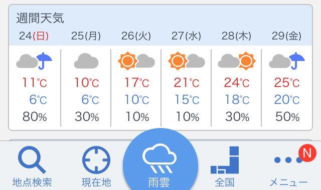 沖縄に雪が降るかもとヒヤヒヤワクワクしてる皆さん  安心してください  来週中頃は、また夏日ですよ!  #沖縄の天気 https://t.co/aKwPyA6RtF