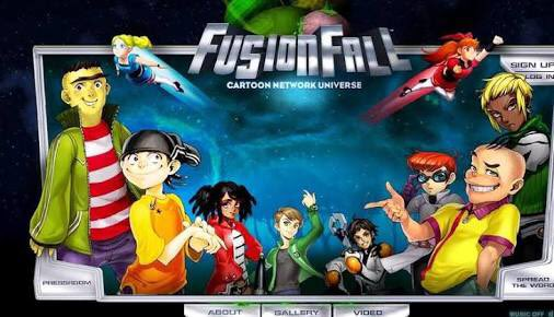 Is The Old Official Artwork From The Original Fusionfall Available