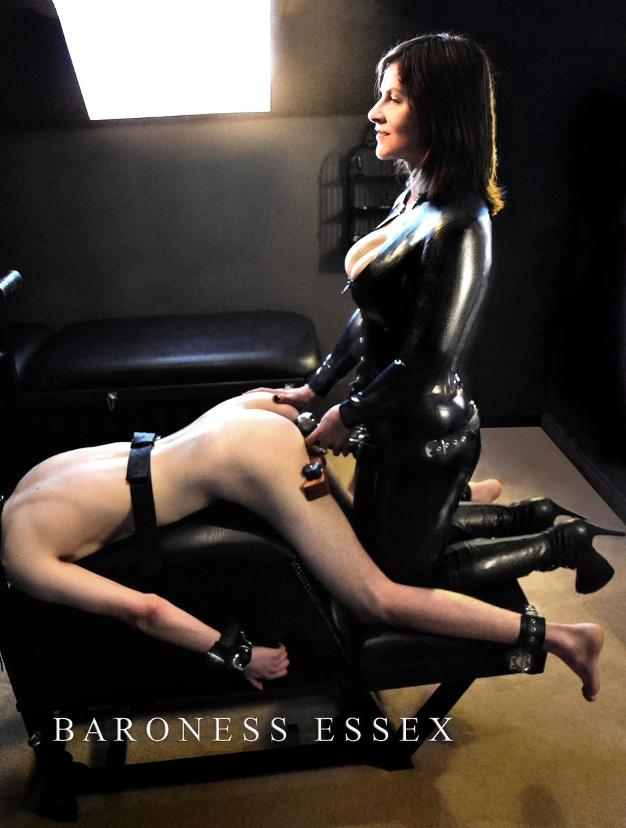 Femdom lesbian whip rope and toy 4