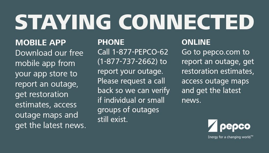 .@NWS issued a blizzard warning this afternoon to Sunday morning. Stay connected if an outage occurs. #blizzard2016 https://t.co/R4O6RScnMY