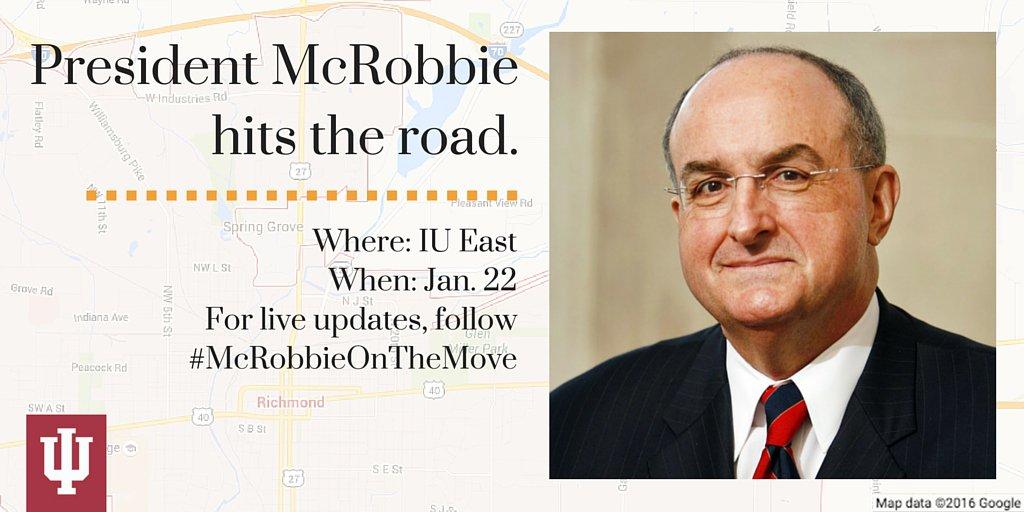 Thumbnail for #McRobbieontheMove: IU East