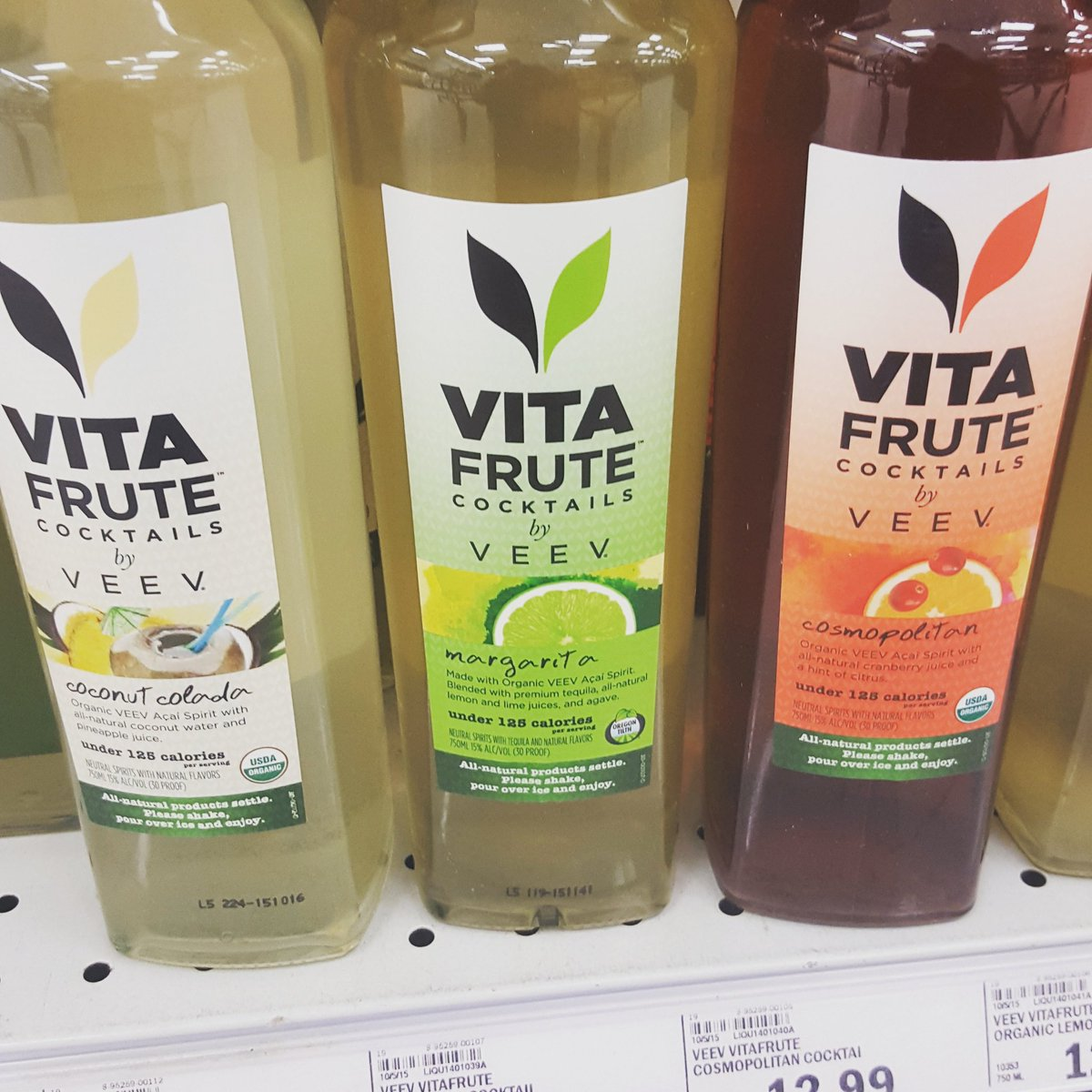 Every health nut's wet dream. They can drink again and count calories! @VEEV #organicalcohol  #healthfoods https://t.co/dIzlj1VY2Z