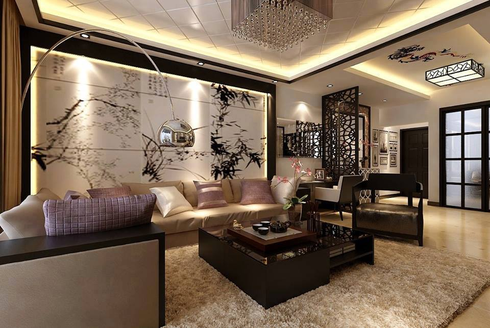 Relaxing Living Rooms with Gorgeous, Modern Sofas