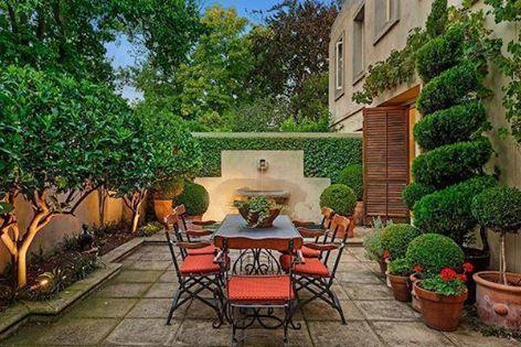Small Gorgeous Backyard
