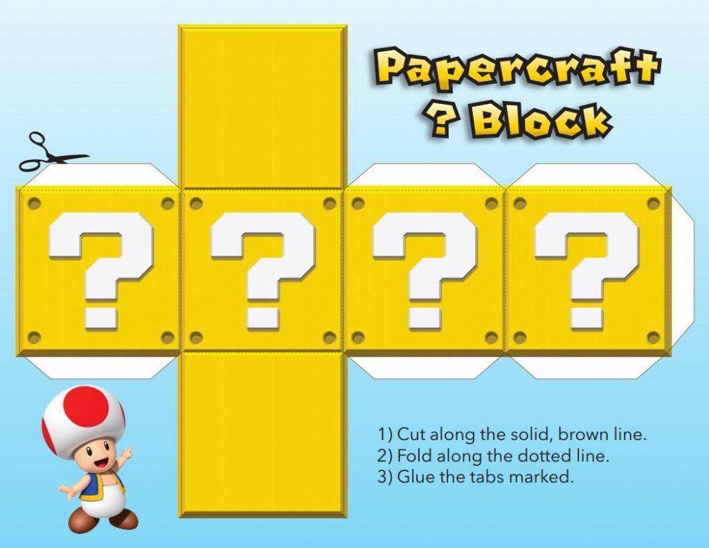 How to make your own @NintendoAmerica Super Mario Brothers Papercraft blocks: https://t.co/DgytWXCtcE #PaperJam https://t.co/UNObeAZcFq