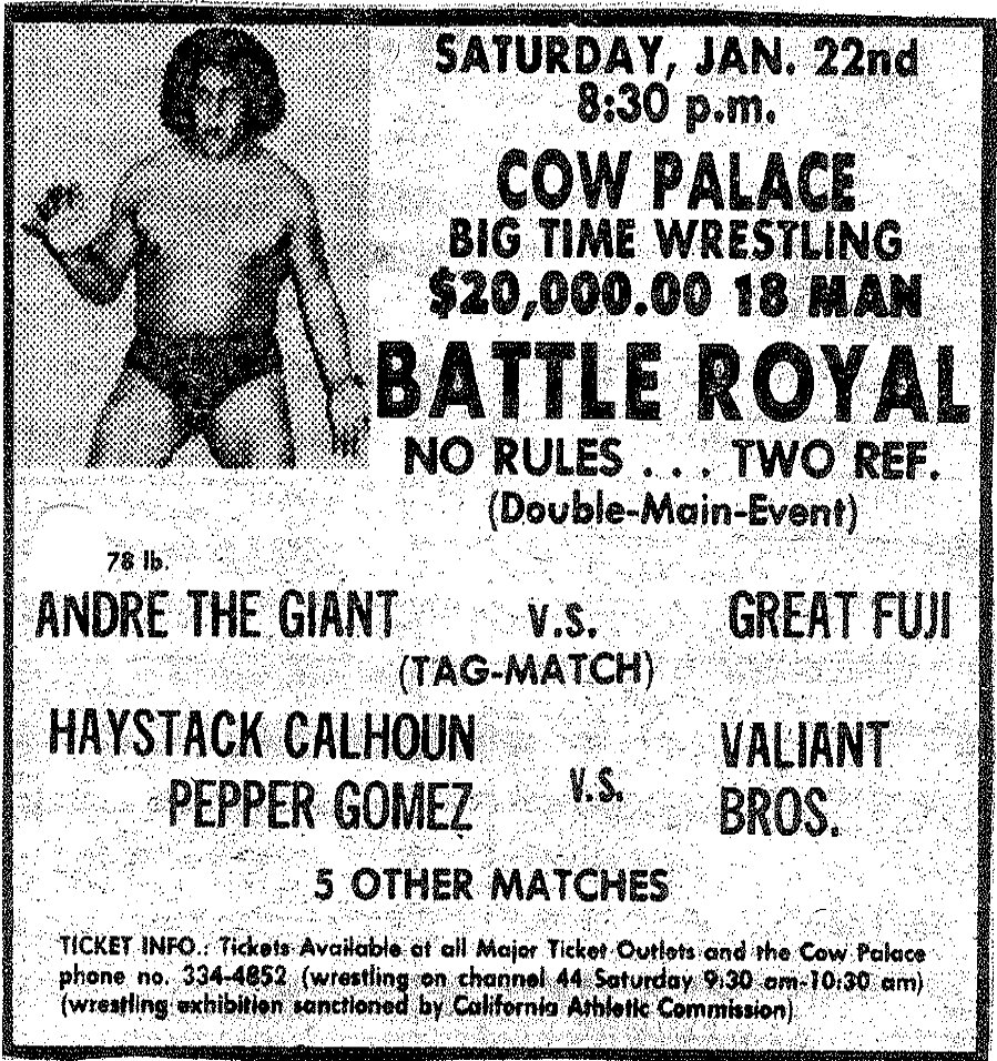 Image result for Cow Palace Battle Royals