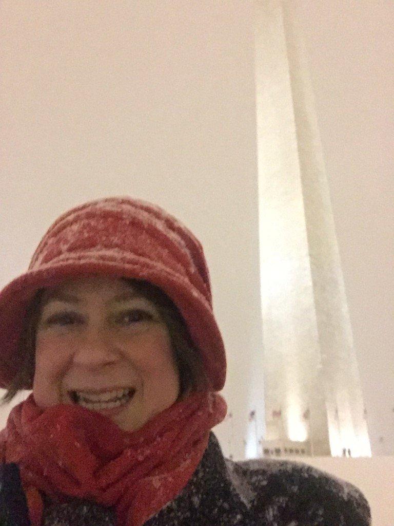 https://t.co/RvlVRNASqA Made it to the Washington Monument #snozilla #aacu16 https://t.co/nqrVRRn6Mv https://t.co/NMJJbR8u7p