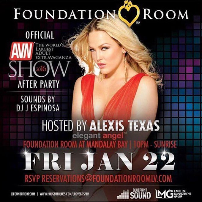 Who's Ready To Party With Their Favorite Big Booty Vegas #FoundationRoom #Vegas #Nightlife #avnshow @FoundationRoom