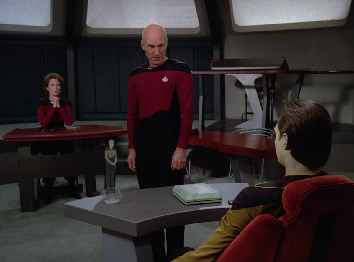 Star trek episode no adults