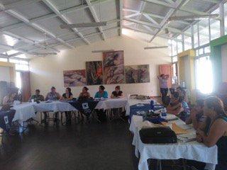 Staff & board of Salvadoran #ESPERA group Concerta work w/ Mary's Pence regional staff in strategic planning meeting https://t.co/KG8fJkqMJU