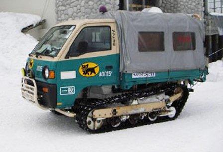豪雪地帯のクロネコヤマトの車体が完全装甲車な件www