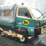 豪雪地帯のクロネコヤマトの車体が完全装甲車な件!