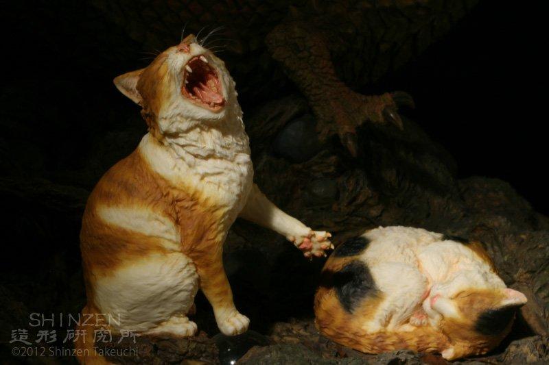 2月7日のワンフェス。今回もキツネの「狐霊」、連れて行きます~。ネコの「玉守」と「毛玉」もよろしくお願いいたします~\(^o^)/