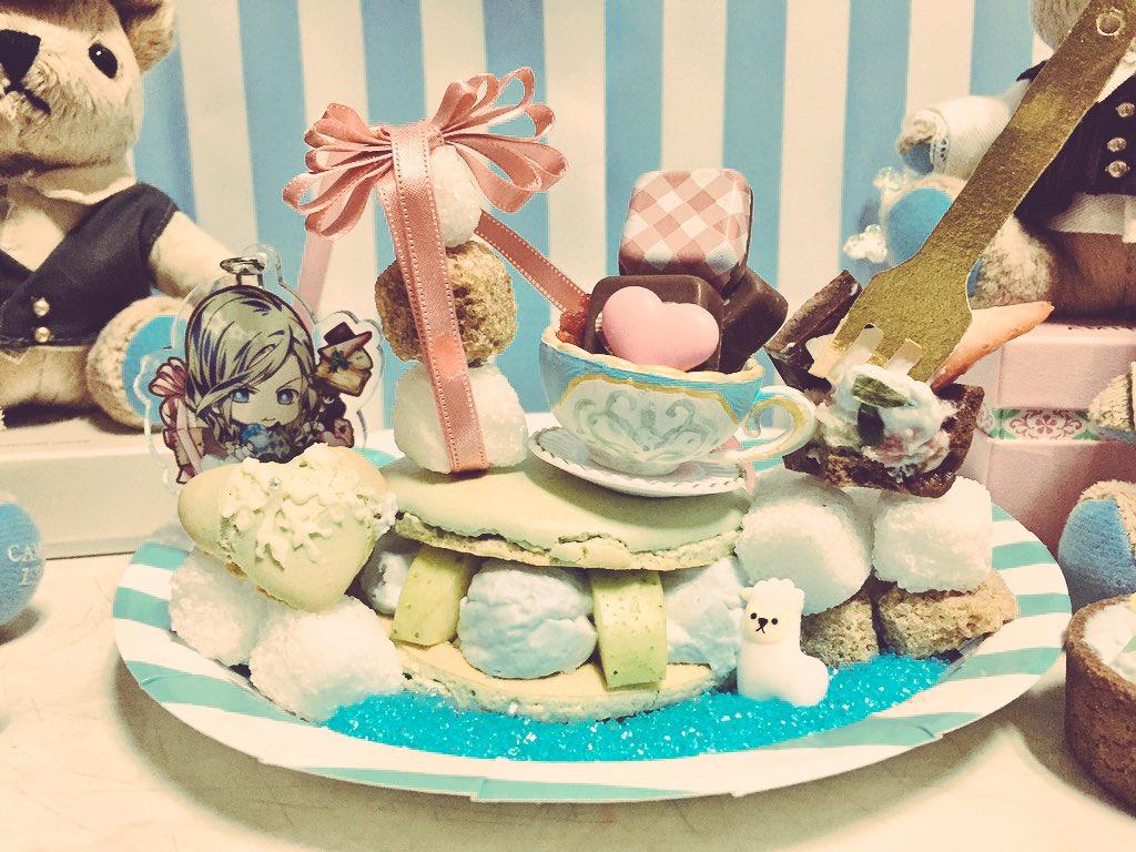 カミュ様お誕生日おめでとうございます( ◜◒◝ )今年はアクキーのあれを作ったよ!