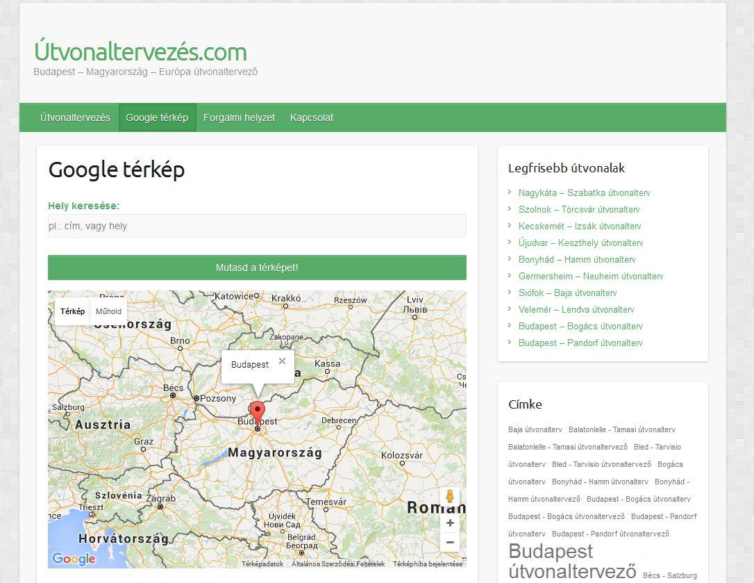 Top Five Debrecen Terkep Utvonaltervezes