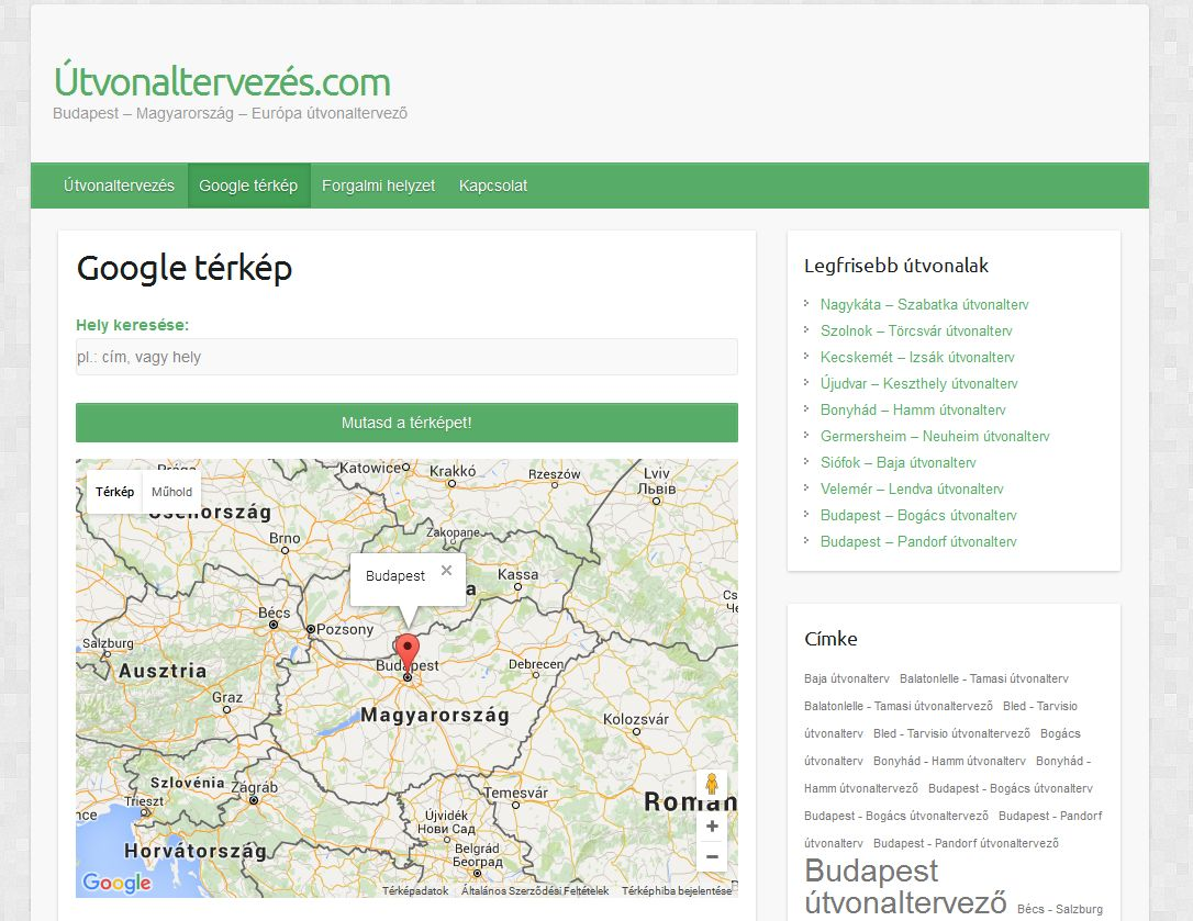 A Google Terkepen A Dkv Menetrendje Debrecen Hirei Debreceni