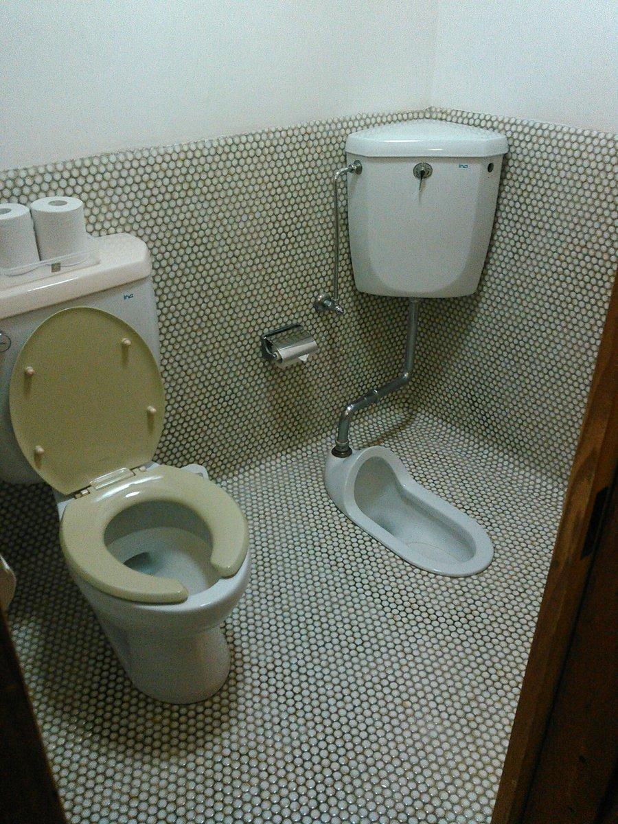 旅館のトイレが斬新過ぎてビール片手にゲラゲラ笑ってるwwwww https://t.co/1XoJDMZSpn