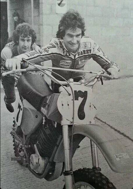 @Stavros6 This is a pretty cool photo of Team Suzuki pushing a Maico dirt bike  ...circa 77? https://t.co/z5iZhcRkoQ
