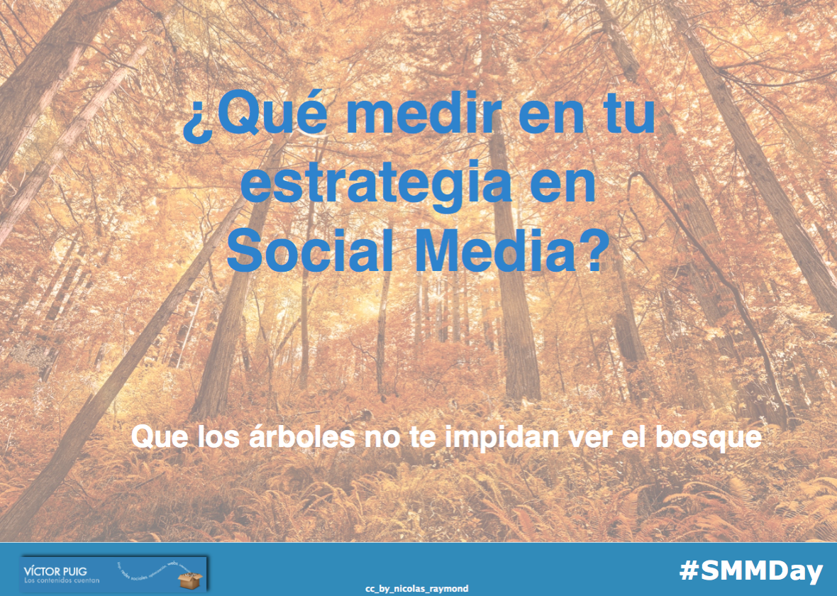 En https://t.co/5Z3BEZaj3x está la presentación sobre qué medir en #socialmedia de hoy en #SMMDay RT si os gustó https://t.co/7v5tnvbjuR