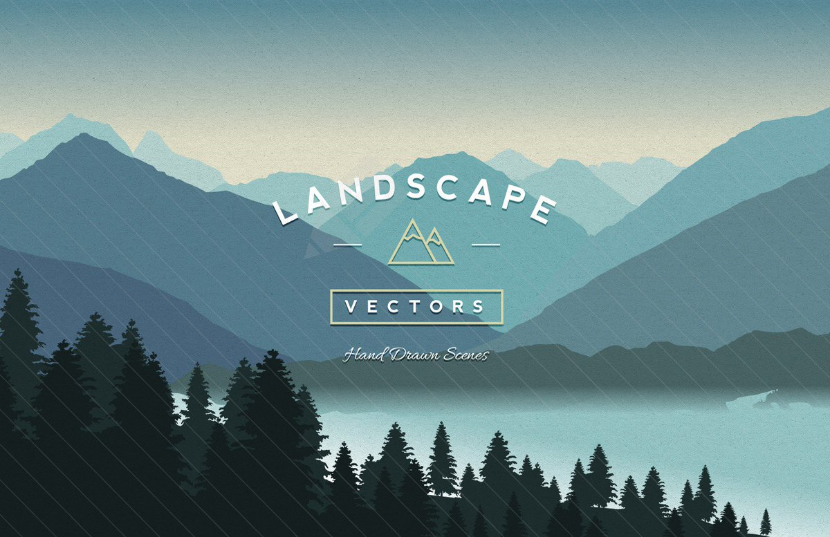 Free Vector Landscapes -- https://t.co/ZfDebWdE7i https://t.co/HJxpTbeAsJ