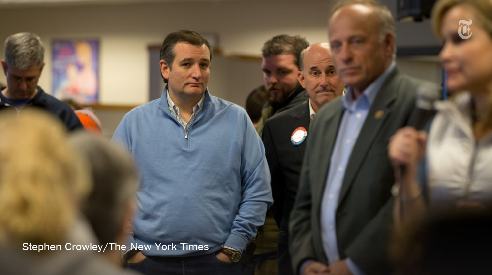 When an Iowa man asked Ted Cruz an uncomfortable question, the room went silent http://nyti.ms/1Ss63c5