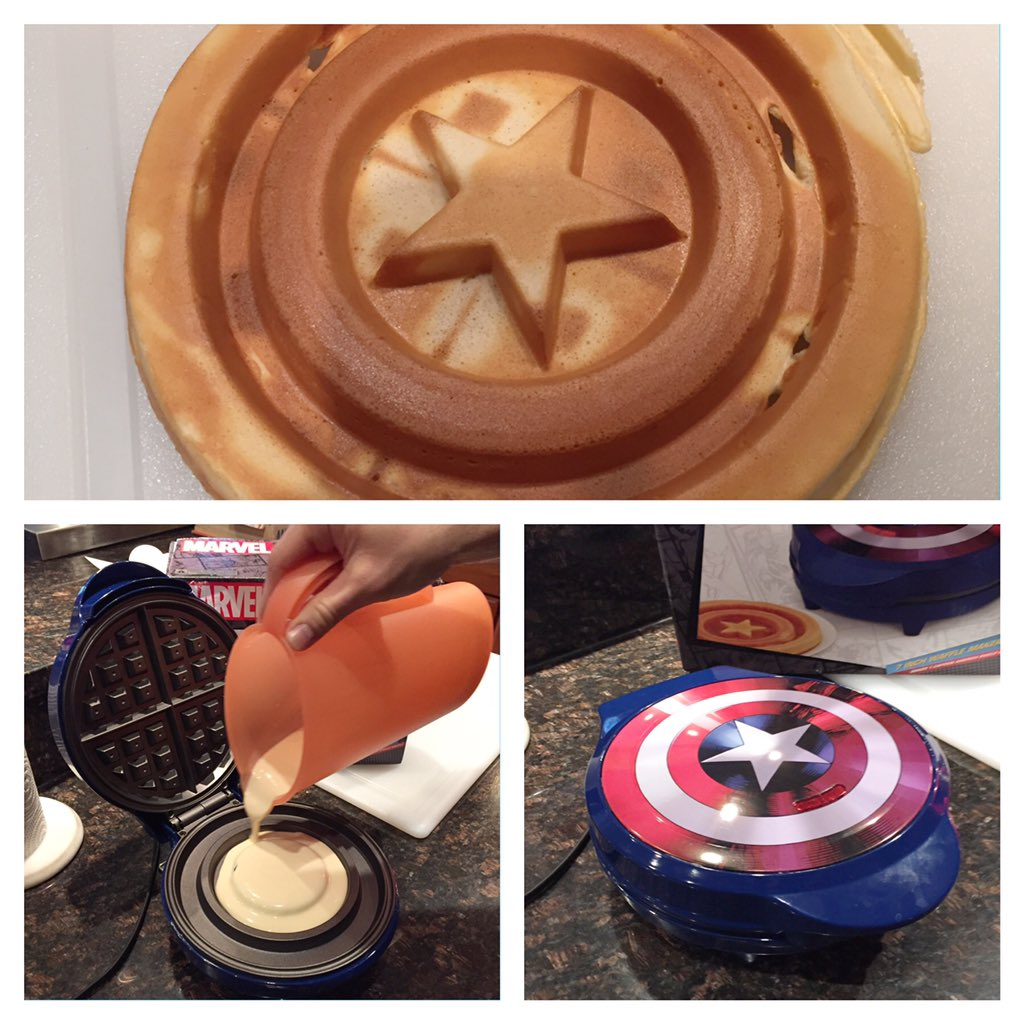 lea hurt on twitter captain america waffles snowdaysnacks