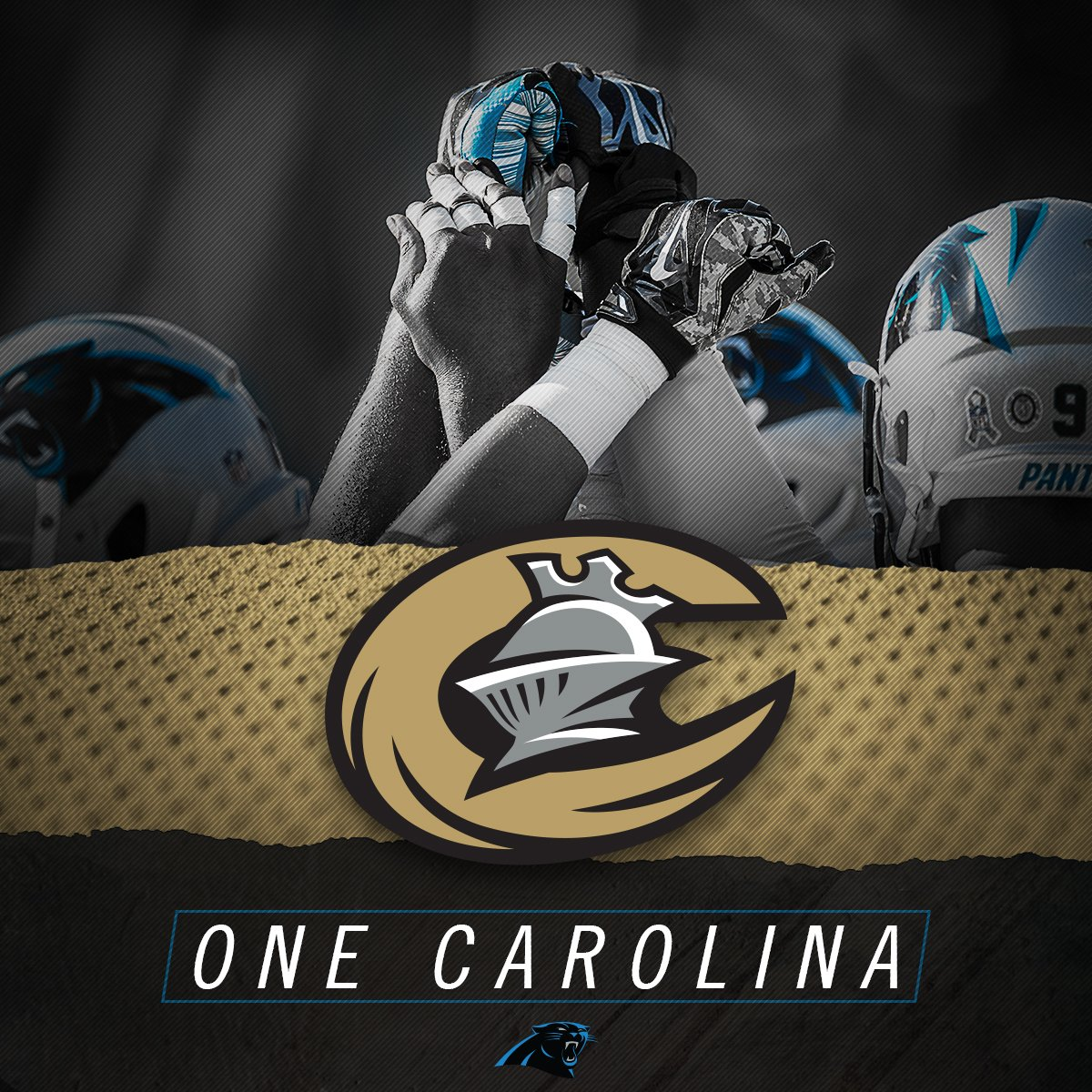 To our #UptownCLT neighbors, @Panthers, we have your back today, Sunday, & every day!  #OneCarolina #KeepPounding https://t.co/0EjdXZg7oR