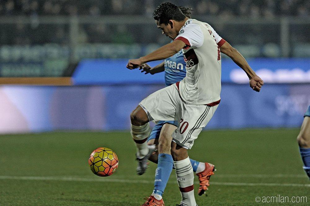 Empoli 2-2 Milan (Foto/@ACMilan Twitter)