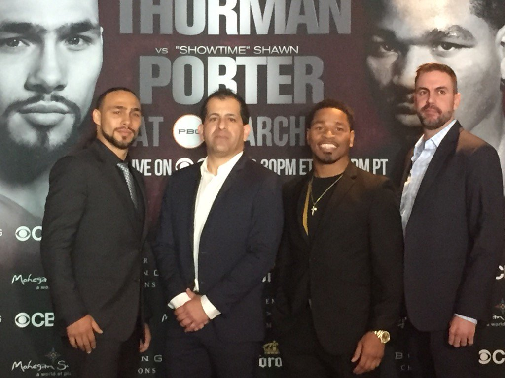 First official announcement for #ThurmanPorter @premierboxing https://t.co/ZWzZJaFK8E