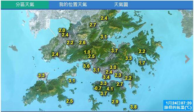 ついに香港全域2度台突入ー!!俺の知ってる香港はどこへ行ってしまったのか。指かじかんで仕事効率50%中(ミスタイプ多発) https://t.co/TTDrIRtD9O