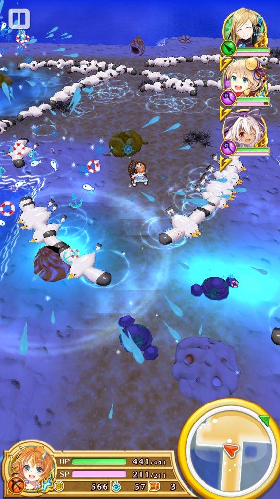 【白猫】茶熊カモメのS1機雷を使った面白小ネタ動画!溜め込んでから一気に開放するカモメ機雷が超キレイ!【プロジェクト】