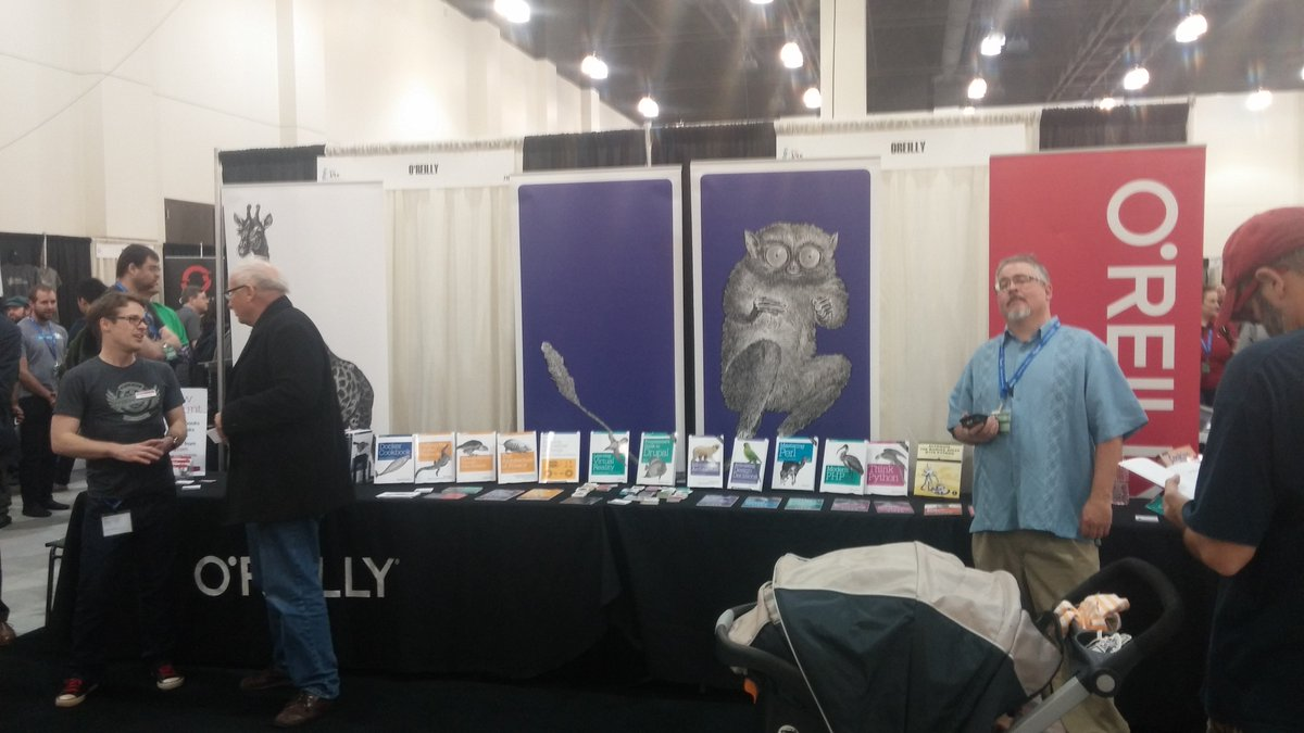 Nobody knows @OReillyMedia like @jonjohns65 and @joshsimmons, drop by Booth 710 and get to know them. #scale14x https://t.co/E51p4yWpGS