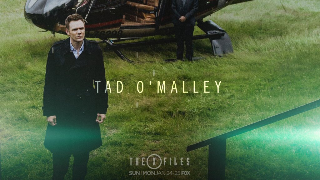 tad omalley Character guide for the x-files's tad o'malley includes character biography, gallery, and a complete list of episode appearances.
