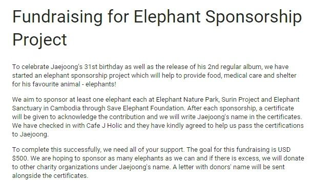 Fundraising for charity project to celebrate Jaejoong's birthday! Do show your support.