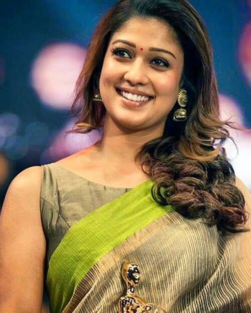 Silverscreen Mw On Twitter Nayan S Saree Is Too Cool Nayanthara