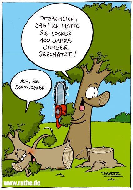 Ralph ruthe on twitter heute ist tag der komplimente - Baum comic bilder ...