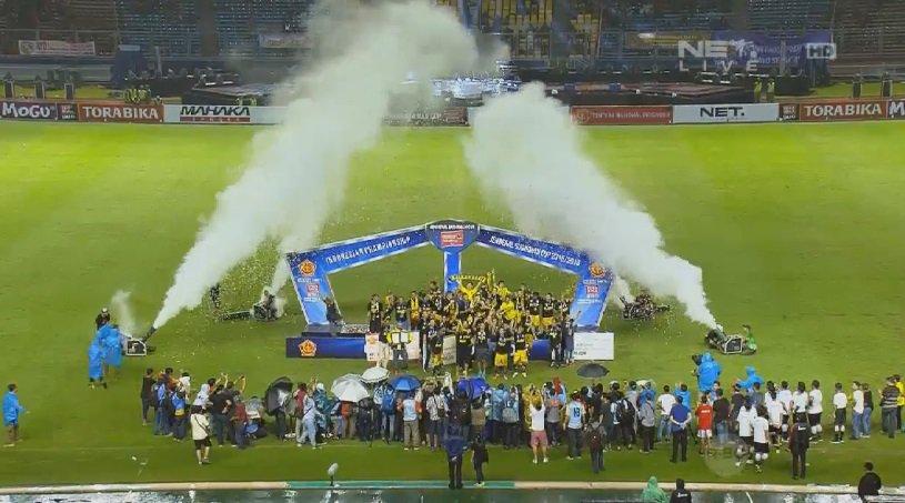 FT Semen Padang 1 - 2 Mitra Kukar Final Piala Jenderal Sudirman 2015
