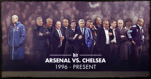 Arsene Wenger and the Chelsea managers he's faced since 1996 #Arsenal https://t.co/hE6jcWtK7o