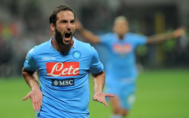 Lazio vs Napoli Gonzalo Higuain