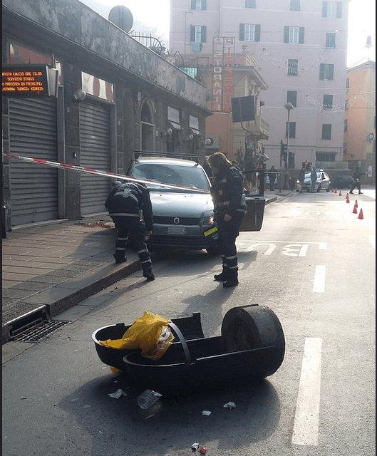 Ubriaco e drogato in auto uccide uomo sul marciapiede