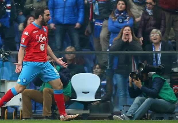 Risultati di calcio Serie A: vince il Napoli in casa della Samp e vola in classifica