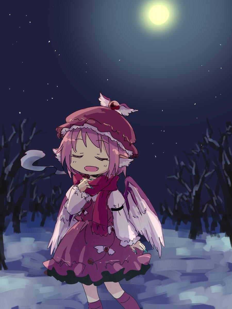 雪の積もった夜は静かでつい歌いたくなっちゃうね https://t.co/Rb1YumXy3a