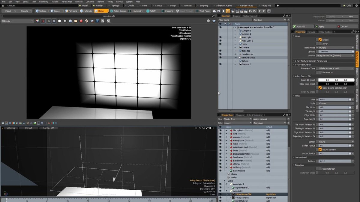 Chaos Group On Twitter Icymi Vray For Modo Tutorial Apply Textures To Lights Released This Week Https T Co 2kcd5hreba Https T Co Mdkqzeplp8