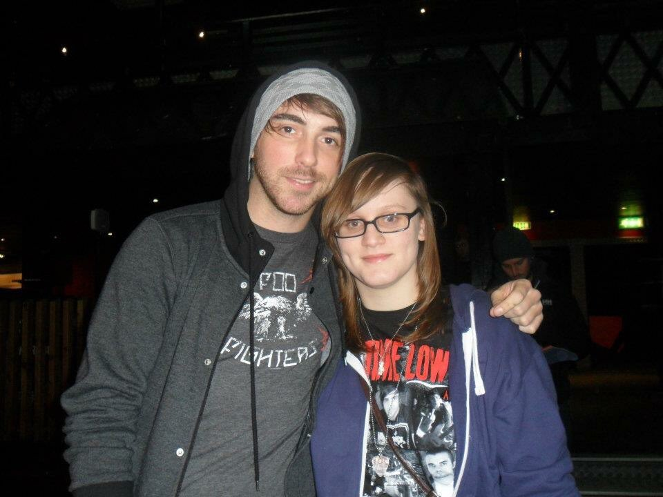 4 years ago I met @AllTimeLow for the first time